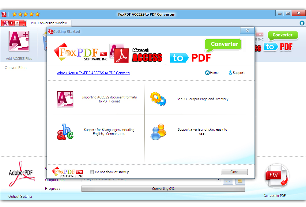 Convert pdf to access database download
