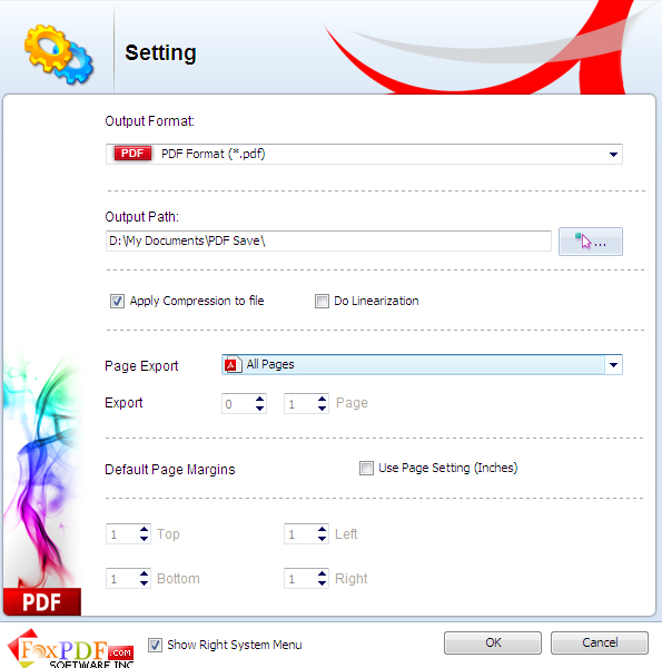 FoxPDF Works to PDF Converter Screenshot