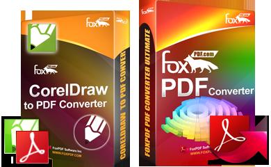 FoxPDF CorelDraw to PDF Converter, CorelDraw to PDF