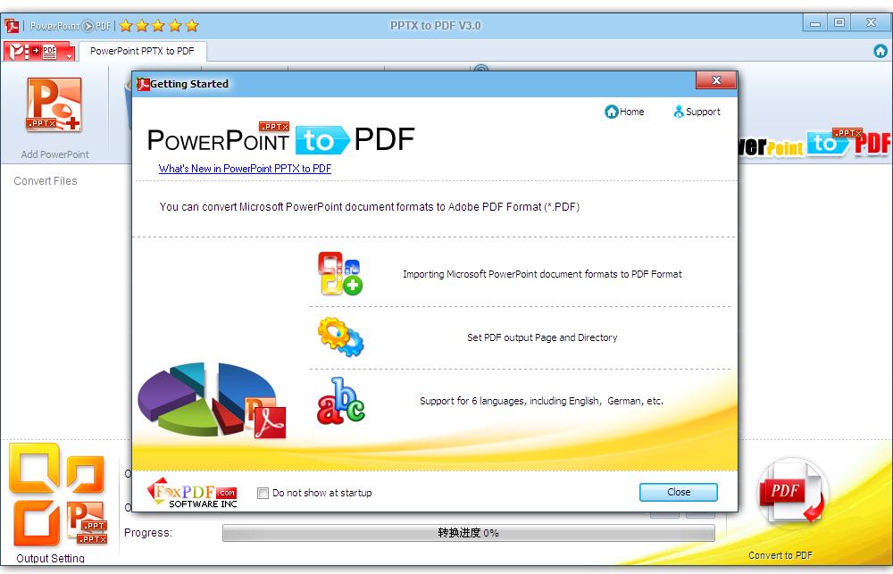 PPTX to PDF