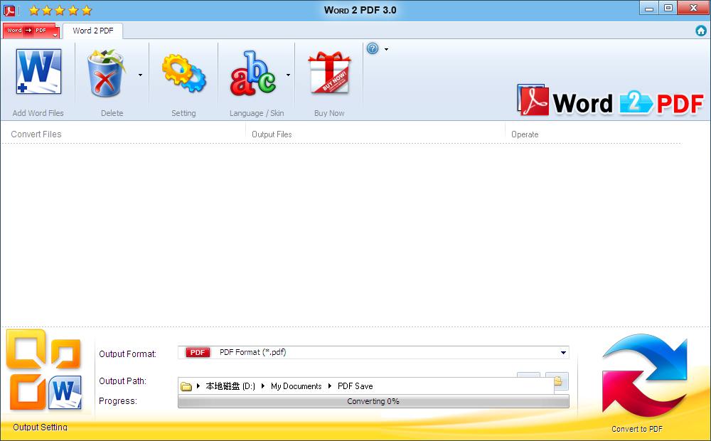 Word 2 PDF
